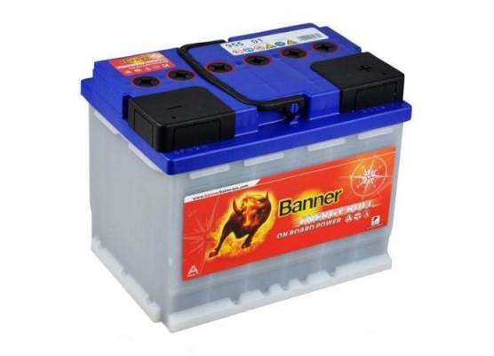 Μπαταρία Solar τεχνολογίας Banner Energy Bull 95501 12V 60Ah (C20)