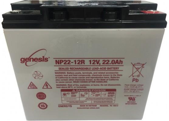 Μπαταρία GENESIS NP22-12 VRLA - AGM τεχνολογίας - 12V 22Ah