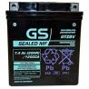 Μπαταρία μοτοσυκλετών GS AGM (factory activated) GTZ8V- 12V 7.4Ah (20HR) - 120 CCA(EN) εκκίνησης