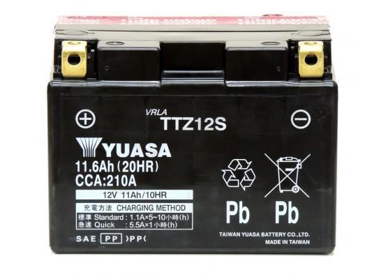 Μπαταρία μοτοσυκλετών YUASA TAIWAN High Performance Maintenance Free TTZ12S -12V 11.6 (20HR) Ah - 210 CCA(EN) εκκίνησης (με υγρά)