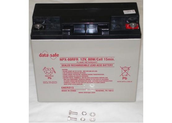 Μπαταρία ENERSYS DATASAFE NPX80-12 High rated VRLA - AGM τεχνολογίας - 12V 80 watt / κελί