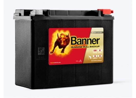 Μπαταρία τεχνολογίας AGM Banner Running Bull BACK UP 51801 12V 20Ah (C20)