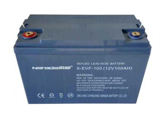 Μπαταρία Narada 6-EVF-100 - AGM τεχνολογίας ηλεκτρικών οχημάτων - 12V 100Ah (C10) / 125Ah (C20)