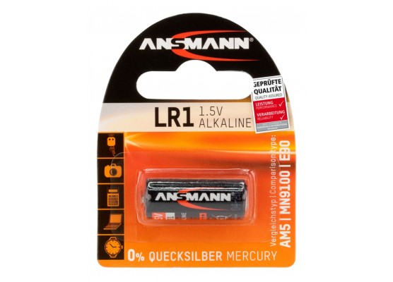 Αλκαλική μπαταρία Ansmann Ν1 LR1 1,5V