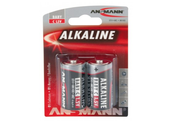Αλκαλική μπαταρία Ansmann C LR14 1,5V (2 τεμ.)