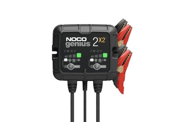 Φορτιστής - Συντηρητής NOCO GENIUS 2X2 6V & 12V 2A