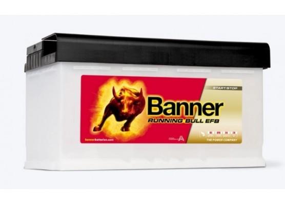 Μπαταρία τεχνολογίας EFB Banner Running Bull PRO 58511 12V 85Ah (C20) - 780CCA εκκίνησης
