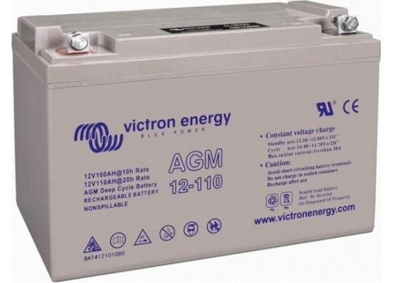 Μπαταρία VICTRON 12-110 VRLA - AGM τεχνολογίας - 12V 110Ah (C20)