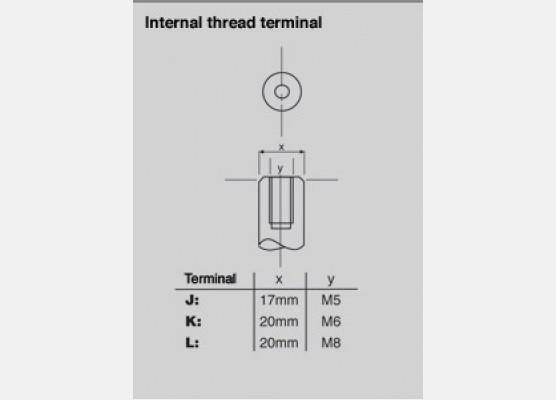 VRLA TERMINAL  / J, K & L
