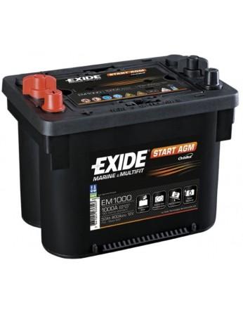 Μπαταρία Exide EM1000 ( Maxxima 900 ) - 12V 50Ah - 800CCA A(EN) εκκίνησης
