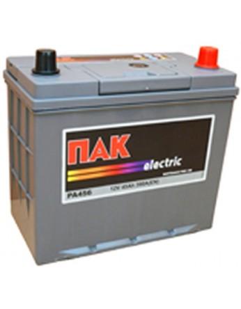 Μπαταρία αυτοκινήτου Πακ Electric PA456 - 12V 45 Ah - 390CCA A(EN) εκκίνησης