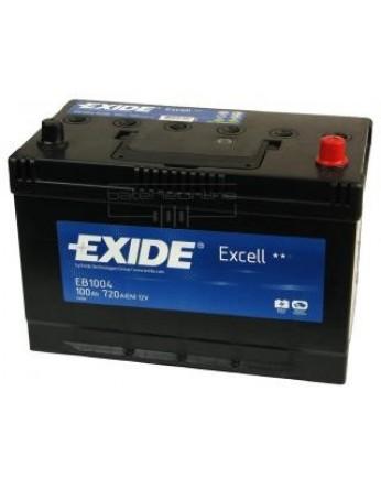 Μπαταρία αυτοκινήτου Exide Excell EB1004 - 12V 100Ah - 720 CCA A(EN) εκκίνησης
