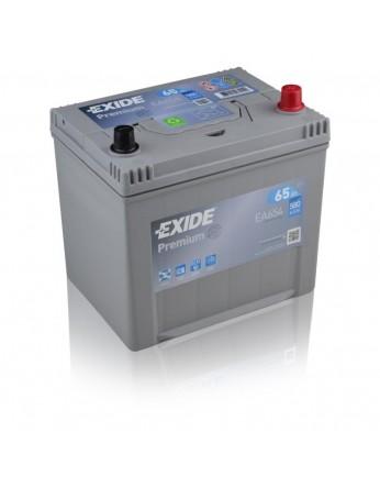 Μπαταρία αυτοκινήτου Exide Premium EA654 - 12V 65 Ah - 580CCA A(EN) εκκίνησης