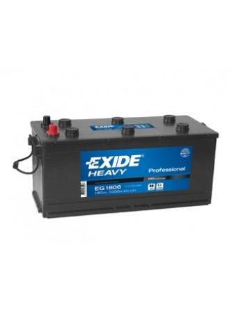 Μπαταρία Exide Professional EG1806 - 12V 180Ah - 1000CCA A(EN) εκκίνησης