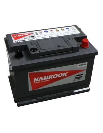Μπαταρία αυτοκινήτου Hankook MF57412 - 12V 74Ah - 680CCA(EN) εκκίνησης