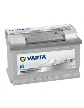 Μπαταρία αυτοκινήτου Varta Silver E38 - 12V 74 Ah - 750CCA A(EN) εκκίνησης