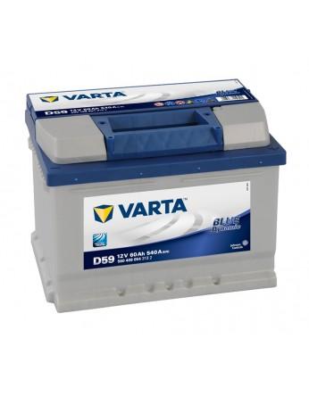 Μπαταρία αυτοκινήτου Varta Blue D59 - 12V 60 Ah - 540CCA A(EN) εκκίνησης