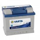 Μπαταρία αυτοκινήτου Varta Blue D43 - 12V 60 Ah - 540CCA A(EN) εκκίνησης