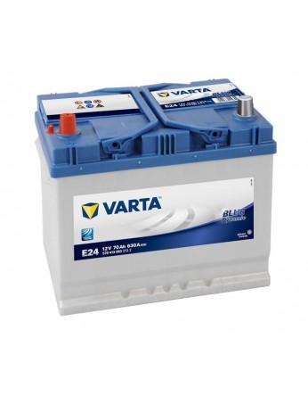 Μπαταρία αυτοκινήτου Varta Blue E24 - 12V 70 Ah - 630CCA A(EN) εκκίνησης
