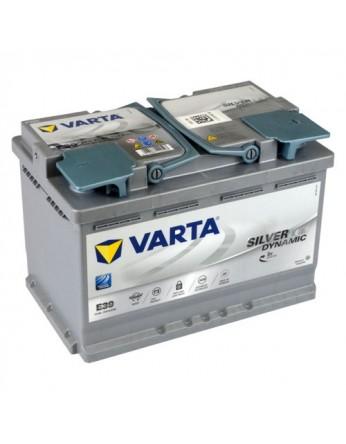 Μπαταρία αυτοκινήτου Varta Start Stop AGM E39 - 12V 70 Ah - 760CCA A(EN) εκκίνησης