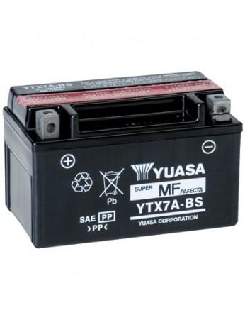 Μπαταρία μοτοσυκλετών YUASA TAIWAN Maintenance Free YTX7A-BS - 12V 6 (10HR)Ah - 105 CCA(EN) εκκίνησης