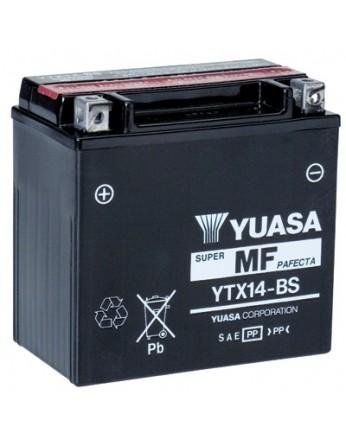 Μπαταρία μοτοσυκλετών YUASA TAIWAN Maintenance Free YTX14-BS - 12V 12 (10HR)Ah - 200 CCA(EN) εκκίνησης