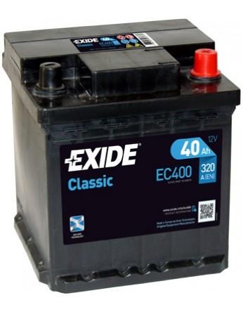 Μπαταρία αυτοκινήτου Exide Classic EC400 - 12V 40 Ah - 320CCA A(EN) εκκίνησης