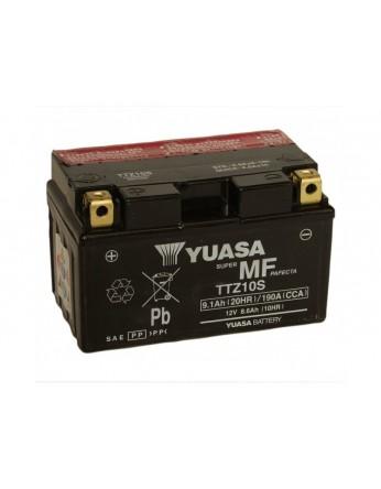 Μπαταρία μοτοσυκλετών YUASA TAIWAN High Performance Maintenance Free YTZ10S / TTZ10S -12V 8.6 (10HR)Ah - 190 CCA(EN) εκκίνησης (με υγρά)