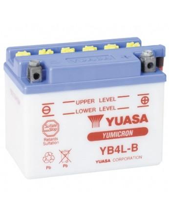 Μπαταρία μοτοσυκλετών YUASA Yumicron INDO YB4L-B - 12V 4 (10HR) - 56 CCA (EN) εκκίνησης