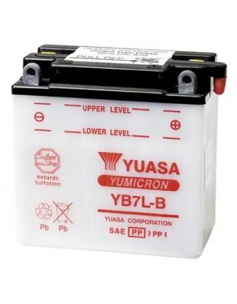 Μπαταρία μοτοσυκλετών YUASA Yumicron YB7L-B - 12V 8 (10HR) - 124 CCA (EN) εκκίνησης