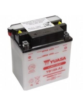 Μπαταρία μοτοσυκλετών YUASA Yumicron YB10A-A2 - 12V 11 (10HR) - 160 CCA (EN) εκκίνησης