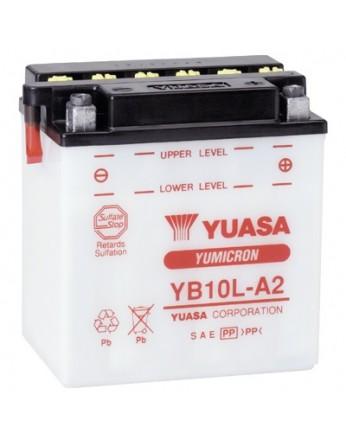 Μπαταρία μοτοσυκλετών YUASA Yumicron YB10L-A2 - 12V 11 (10HR) - 160 CCA (EN) εκκίνησης