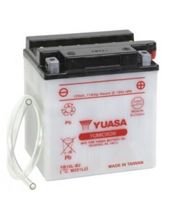 Μπαταρία μοτοσυκλετών YUASA Yumicron YB10L-B2 - 12V 11 (10HR) - 160 CCA (EN) εκκίνησης
