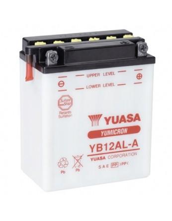 Μπαταρία μοτοσυκλετών YUASA Yumicron YB12AL-A- 12V 12 (10HR) - 165 CCA (EN) εκκίνησης