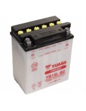 Μπαταρία μοτοσυκλετών YUASA Yumicron YB14L-B2 - 12V 14 (10HR) - 190 CCA (EN) εκκίνησης