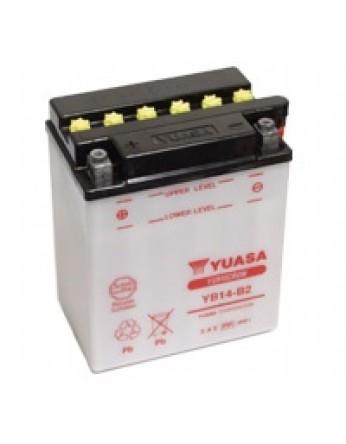Μπαταρία μοτοσυκλετών YUASA INDO YumicronYB14-B2 - 12V 14 (10HR) - 190 CCA (EN) εκκίνησης
