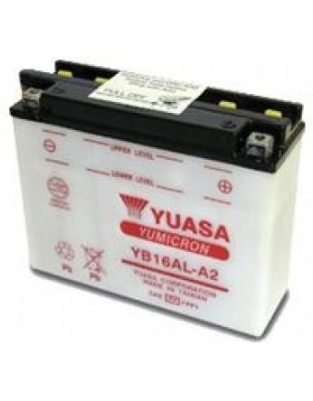 Μπαταρία μοτοσυκλετών YUASA Yumicron YB16AL-A2 - 12V 16 (10HR) - 200 CCA (EN) εκκίνησης