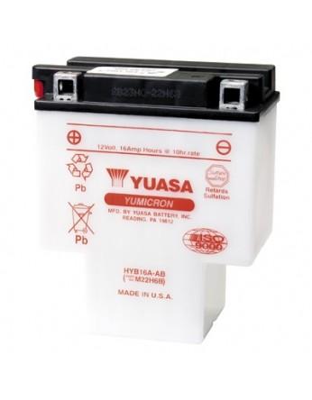 Μπαταρία μοτοσυκλετών YUASA Yumicron HYB16A-AB - 12V 16 (10HR) - 200 CCA (EN) εκκίνησης