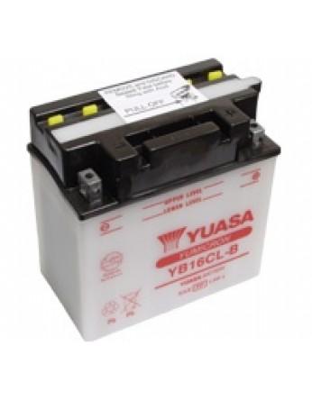 Μπαταρία μοτοσυκλετών YUASA Yumicron YB16CL-B - 12V 19 (10HR) - 240 CCA (EN) εκκίνησης. (Made in Taiwan)