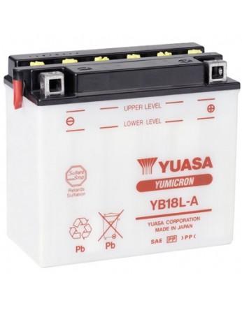 Μπαταρία μοτοσυκλετών YUASA Yumicron YB18L-A - 12V 18 (10HR) - 235 CCA (EN) εκκίνησης
