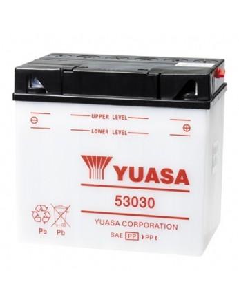 Μπαταρία μοτοσυκλετών YUASA Yumicron 53030 (ΧΩΡΙΣ ΥΓΡΑ) - 12V 30 (20HR) - 180 CCA (EN) εκκίνησης