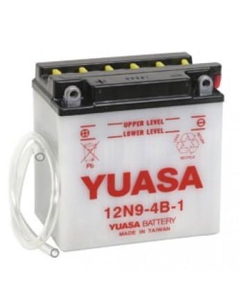Μπαταρία μοτοσυκλετών YUASA Conventional 12N9-4B-1 - 12V 9 (10HR) - 85 CCA (EN) εκκίνησης
