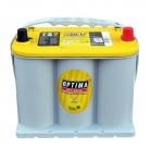 Μπαταρία εκκίνησης και εκφόρτισης Optima yellow top YTR 3.7 12V 48Ah - 660 CCA A(EN) εκκίνησης