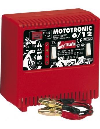 Φορτιστής μπαταριών Telwin Mototronic 6V / 12V P.N. 807010