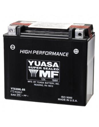 Μπαταρία μοτοσυκλετών YUASA High Performance Maintenance Free YTX20HL-BS -12V 18 (10HR)Ah - 310 CCA(EN) εκκίνησης