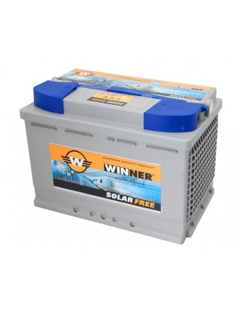Μπαταρία Winner Solarfree WF60 - 12V 60Ah (C100)