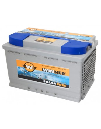Μπαταρία Winner Solarfree WF90 - 12V 90Ah (C100)