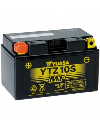 Μπαταρία μοτοσυκλετών YUASA JAPAN High Performance Maintenance Free Gel YTZ10S / TTZ10S -12V 8.6 (10HR)Ah - 190 CCA(EN) εκκίνησης