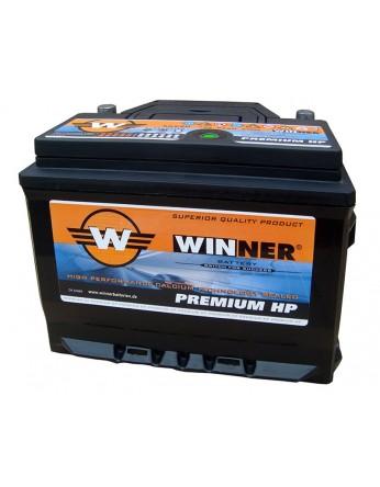 Μπαταρία αυτοκινήτου Winner Premium HP 56220 - 12V 62Ah - 600CCA(EN) εκκίνησης