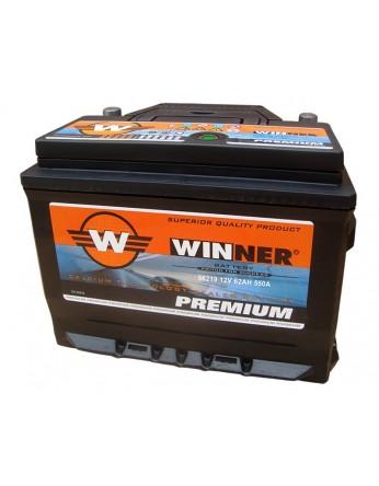 Μπαταρία αυτοκινήτου Winner Premium 56219 - 12V 62Ah - 535CCA(EN) εκκίνησης